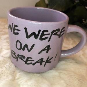 FRIENDS We Were On a Break Purple 10 oz Mug